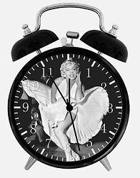 Marilyn Monroe Alarm Desk Clock 3.75 Home or Office Decor E385 Nice For Gift