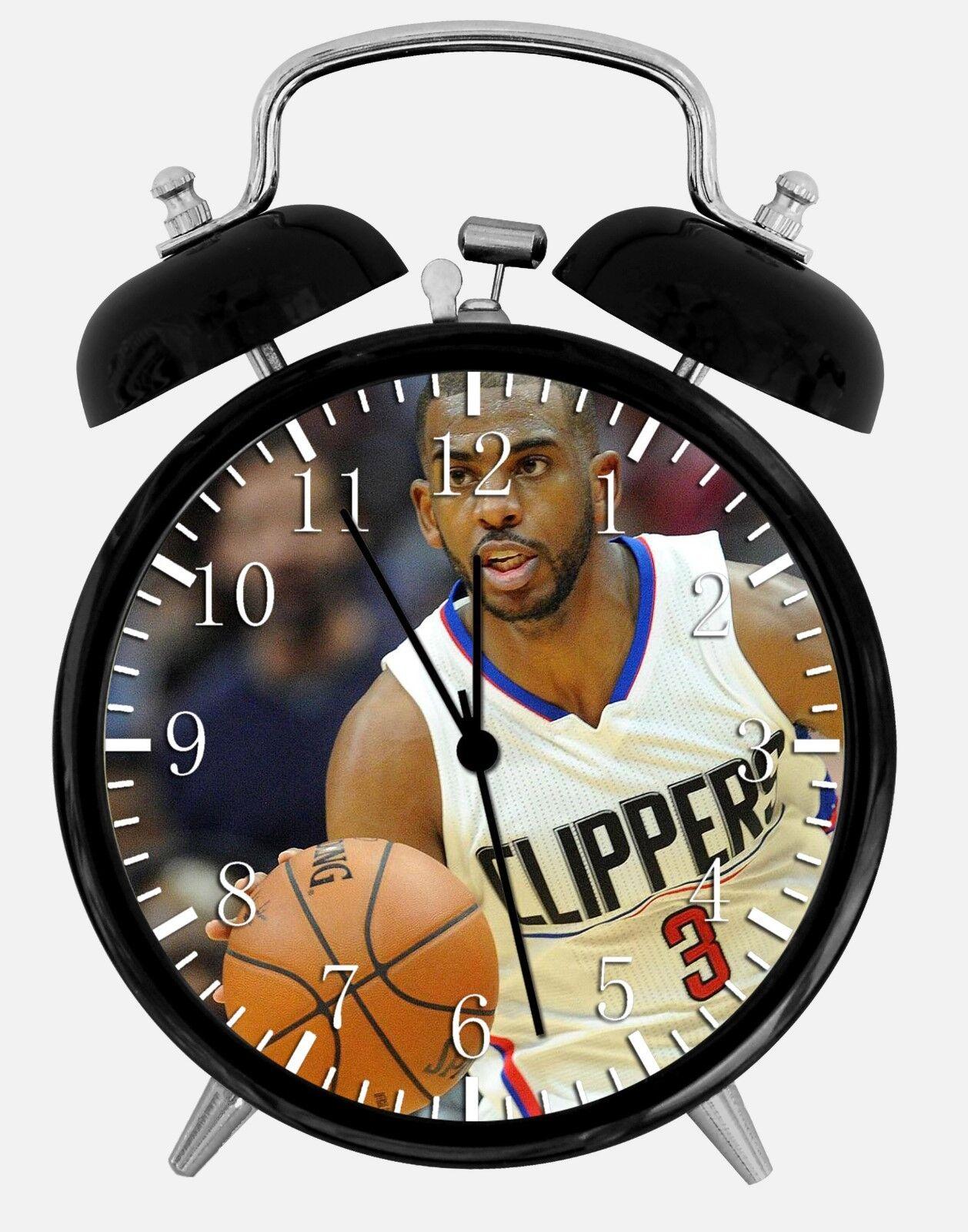 """Chris Paul Alarm Desk Clock 3.75"""" Home or Office Decor E444 Nice For Gift"""