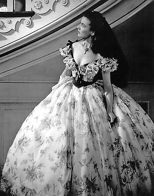 """GONE WITH THE WIND - VIVIEN LEIGH """"12 OAKS GOSSIP"""" OUT TAKE PHOTOGRAPH -  RARE!"""