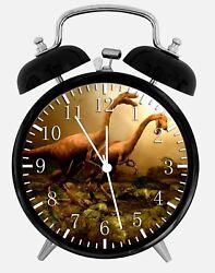 Dinosaur Alarm Desk Clock 3.75 Home or Office Decor Z157 Nice For Gift