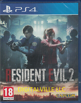 Resident Evil 2 PS4 Brand New Factory Sealed PlayStation 4