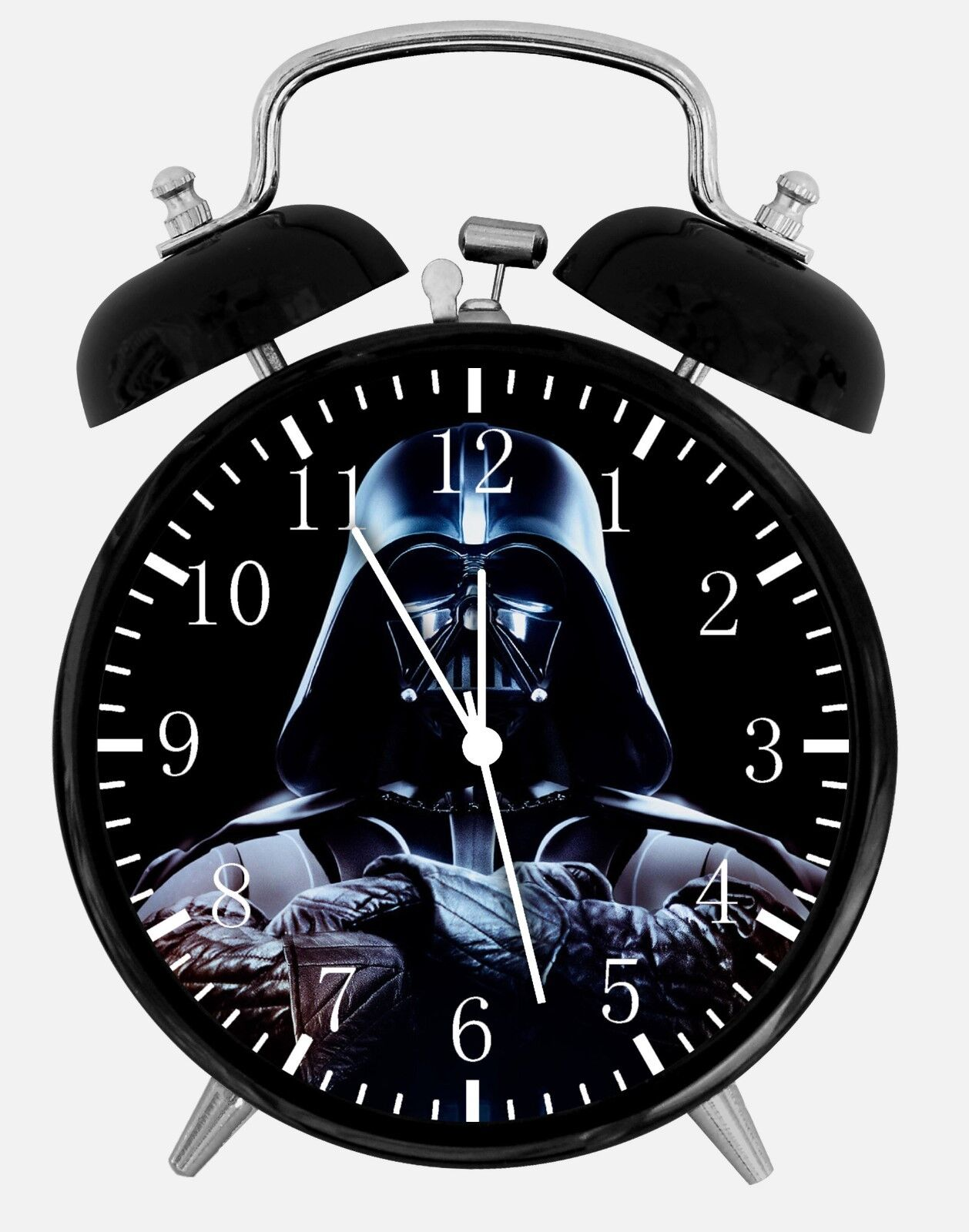 """Anakin Skywalker Star Wars Darth Vader Alarm Desk Clock 3.75"""" Room Decor E54"""