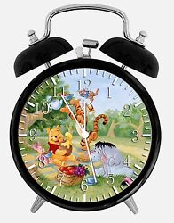 Winnie The Pooh Alarm Desk Clock 3.75 Home or Office Decor Y28 Nice For Gift