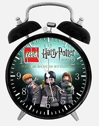 Lego Harry Potter Alarm Desk Clock 3.75 Room Office Decor W14 Nice For Gift
