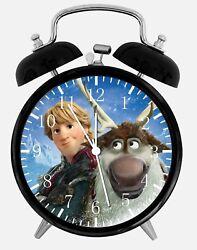 Disney Frozen Alarm Desk Clock 3.75 Home or Office Decor W476 Nice For Gift