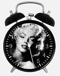 Marilyn Monroe Alarm Desk Clock 3.75 Home or Office Decor E369 Nice For Gift