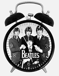 The Beatles Alarm Desk Clock 3.75 Home or Office Decor E174 Nice For Gift