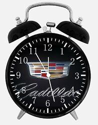Cadillac Alarm Desk Clock 3.75 Home or Office Decor E181 Nice For Gift