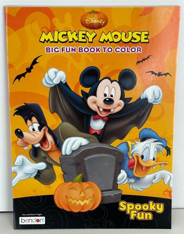 Disney Mickey Mouse Spooky Fun Halloween Coloring Book