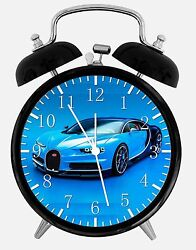 Bugatti Veyron Alarm Desk Clock 3.75 Home or Office Decor E278 Nice For Gift