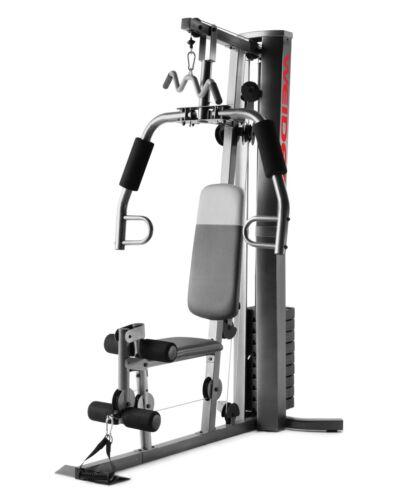 Home Gym Fitness Machine - Weider XRS 50 - Vinyl Weight Stack