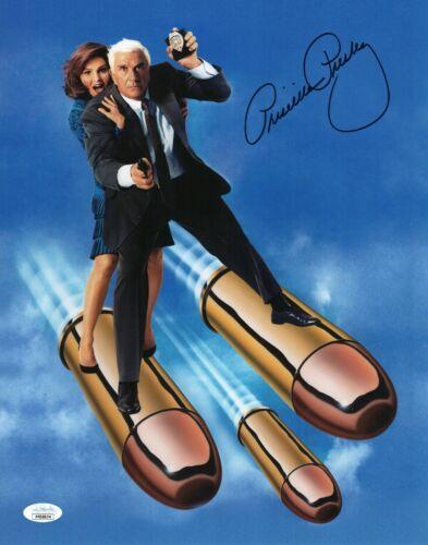 "Priscilla Presley Autograph Signed 11x14 Photo - The Naked Gun ""Jane"" (JSA COA)"