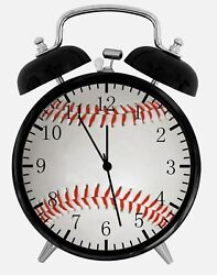 Baseball Alarm Desk Clock 3.75 Home or Office Decor W374 Nice For Gifts