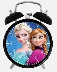 Disney Frozen Alarm Desk Clock 3.75 Home or Office Decor W475 Nice For Gift