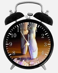 Ballet Shoes Alarm Desk Clock 3.75 Home or Office Decor W310 Nice For Gift