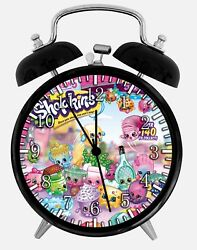 Shopkins Alarm Desk Clock 3.75 Home or Office Decor E497 Nice For Gift
