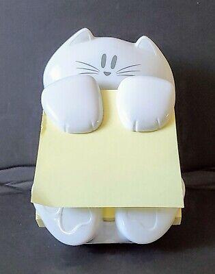 Self Stick Note Pad Holder Pop Up Note Dispenser 3 In X 3 In Cat Figure Post It