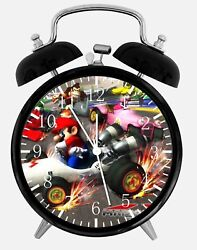 Super Mario Alarm Desk Clock 3.75 Home or Office Decor Z91 Nice For Gift