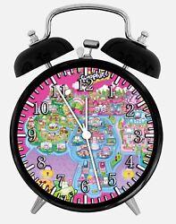 Shopkins Alarm Desk Clock 3.75 Home or Office Decor E487 Nice For Gift