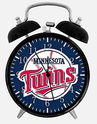 Minnesota Twins Alarm Desk Clock 3.75 Home or Office Decor E286 Nice For Gift
