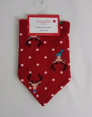 Family PJs Pet Holiday Bandana Red L/XL