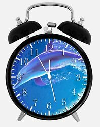 Dolphin Alarm Desk Clock 3.75 Home or Office Decor Y59 Nice For Gift
