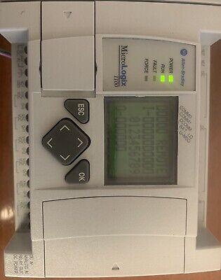 Allen Bradley Micrologix 1100 1763-l16dwd Ser. B Frn 9.0
