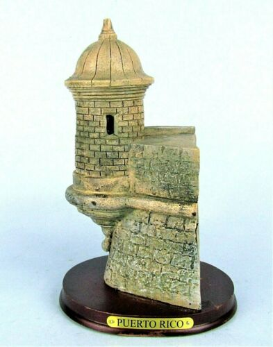 CASTILLO DEL MORRO SOUVENIR BUILDING SAN JUAN PUERTO RICO SPANISH FORT TOWER