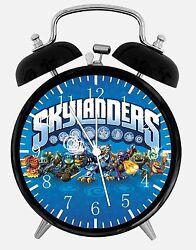 Skylanders Alarm Desk Clock 3.75 Home or Office Decor E15 Nice For Gift