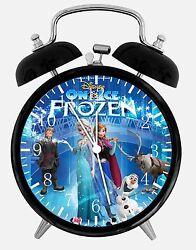 Disney Frozen Alarm Desk Clock 3.75 Home or Office Decor E08 Nice Gift