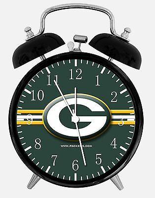 Green Bay Packers Alarm Desk Clock 3.75