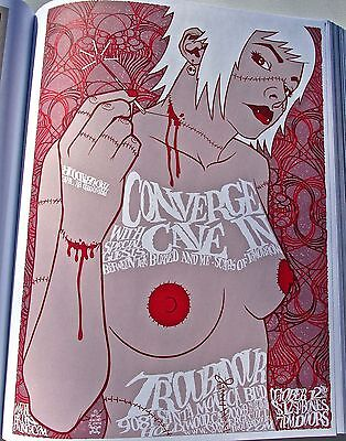 Converge Mini Poster for 2004 Los Angeles Concert 14x10 Unsigned