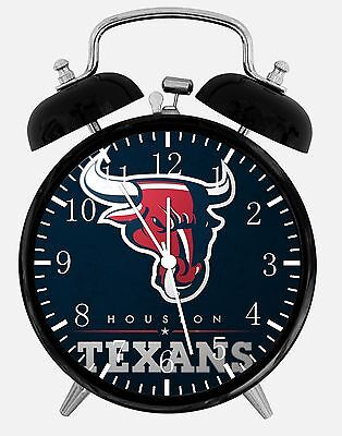 Houston Texans Alarm Desk Clock 3.75 Home or Office Decor E199 Nice For Gift