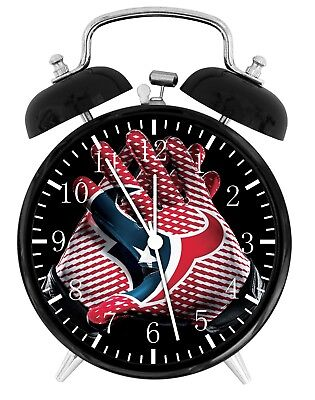 Houston Texans Football Alarm Desk Clock Home Decor F115 Nice Gift