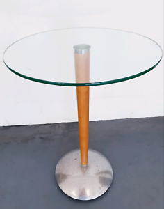 Round Glass Side Table Originally From Freedom Furniture Coffee