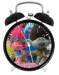 Trolls Alarm Desk Clock 3.75 Home or Office Decor E396 Nice For Gift