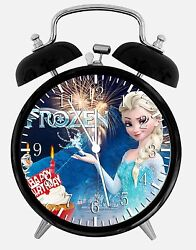 Frozen Birthday Alarm Desk Clock 3.75 Home or Office Decor E388 Nice For Gift