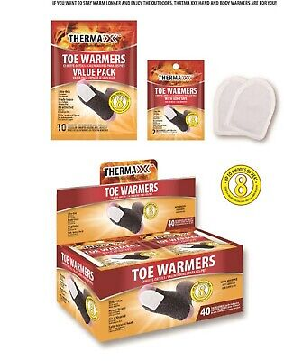 40 pairs Toe warmers patch with adhesive up to 6 hours of heat.men and women Hour Adhesive Toe Warmers
