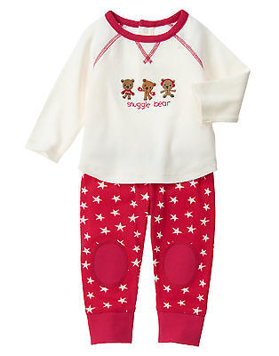 NWT Gymboree Snuggle Bear Teddy Bear Holiday Outfit Baby Boy Girl Unisex - Teddy Bear Baby Outfit