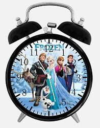 Disney Frozen Alarm Desk Clock 3.75 Home Office Decor W470 Nice For Gift