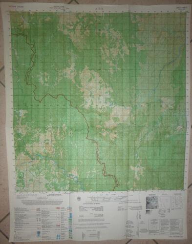LAOS - Map - 6440 ii - A RO - Lao / Vietnam Border - Vietnam War, 1974 - 7th SFG