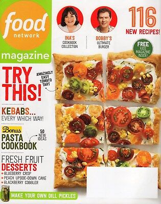 Food Network Magazine   2014   Sept   Kebabs  Pasta  Dessert  116 Recipes