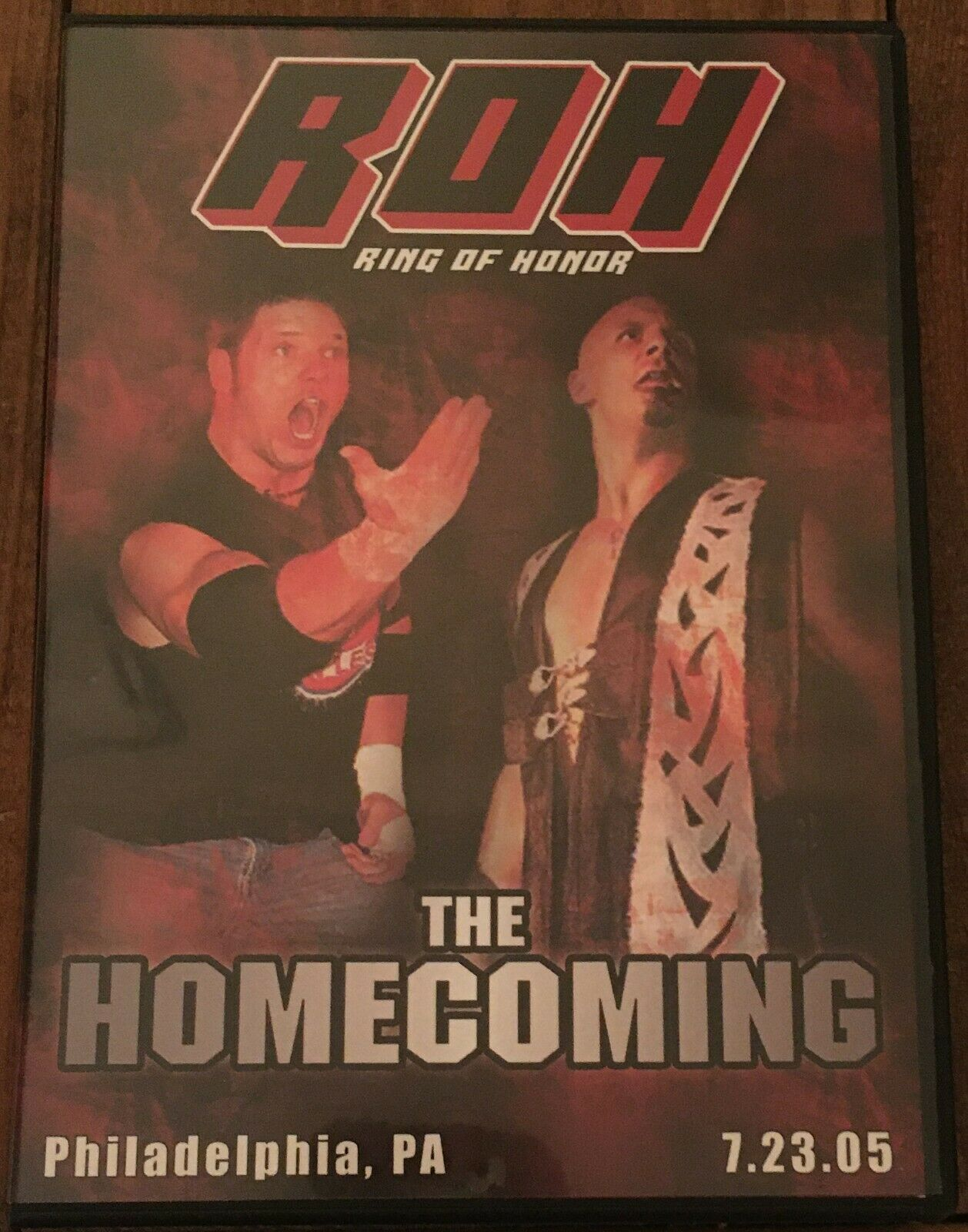 ROH The Homecoming 2005 DVD Ring Of Honor WWE AEW NXT TNA PWG ECW WCW - $15.75