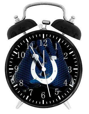 Indianapolis Colts Football NFL Alarm Desk Clock Nice For Decor or Gifts F128