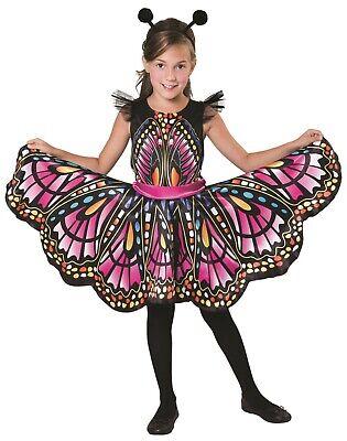 Mädchen Schöner Schmetterling Bunt Mini Biest Kostüm Kleid Outfit 4-12yrs