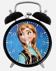Disney Frozen Alarm Desk Clock 3.75 Home or Office Decor W474 Nice For Gift