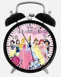 Disney Princess Alarm Desk Clock 3.75 Home or Office Decor Y91 Nice For Gift