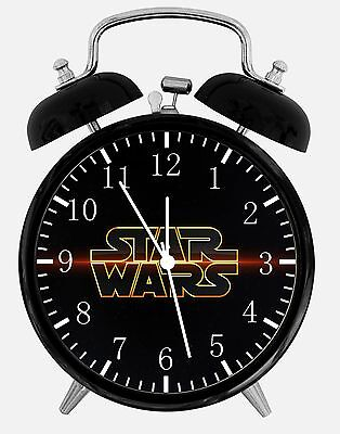"Starwars Alarm Desk Clock 3.75"" Room Decor D64 Nice for Gifts wake up"