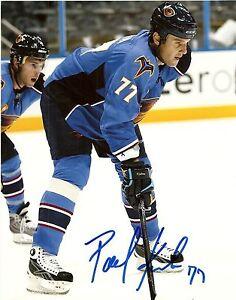 Autographed-Atlanta-Thrashers-Pavel-Kubina-8x10-Photo