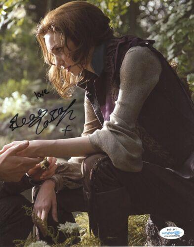 Eleanor Tomlinson Jack Giant Autographed Signed 8x10 Photo ACOA 2020-17